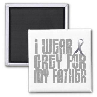 I Wear Grey For My FATHER 16 Fridge Magnet