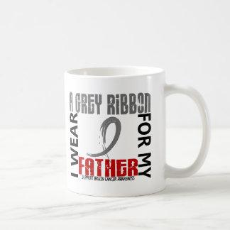 I Wear Grey For My Father 46 Brain Cancer Mug