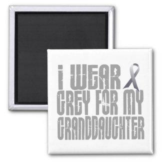 I Wear Grey For My GRANDDAUGHTER 16 Refrigerator Magnets