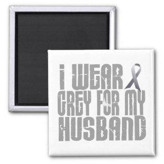 I Wear Grey For My HUSBAND 16 Fridge Magnet