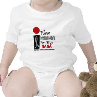I Wear Grey For My Nana 9 BRAIN CANCER T-Shirts