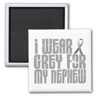 I Wear Grey For My Nephew 16 Fridge Magnets