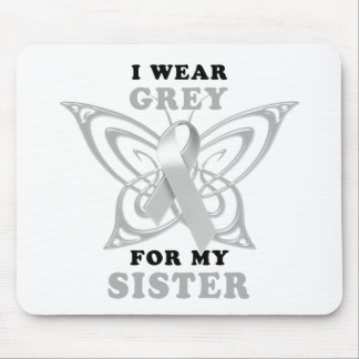 I Wear Grey for my Sister Mouse Mat
