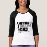I Wear Grey Ribbon For My Dad T Shirts