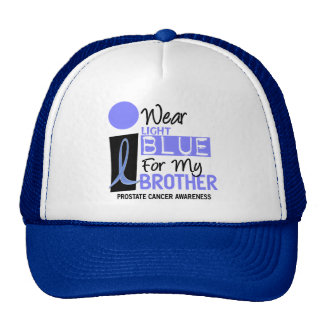I Wear Light Blue For My Brother 9 PC Trucker Hat