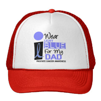 I Wear Light Blue For My Dad 9 PC Cap