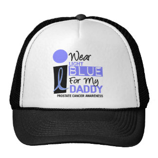 I Wear Light Blue For My Daddy 9 PC Trucker Hat