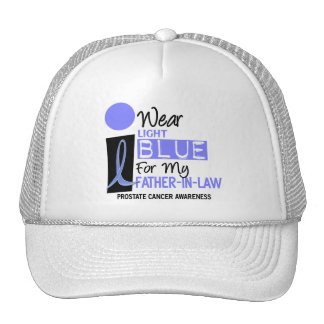 I Wear Light Blue For My Father-In-Law 9 PC Cap