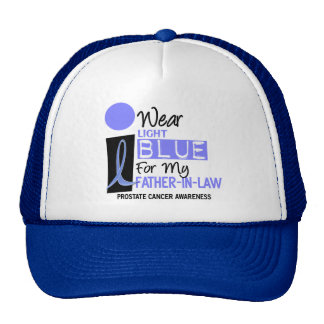 I Wear Light Blue For My Father-In-Law 9 PC Trucker Hat