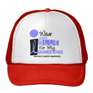 I Wear Light Blue For My Grandfather 9 PC Trucker Hat
