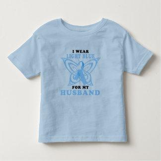 I Wear Light Blue for my Husband Toddler T-Shirt