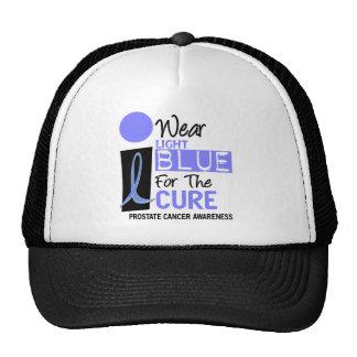 I Wear Light Blue For The Cure 9 PC Trucker Hat