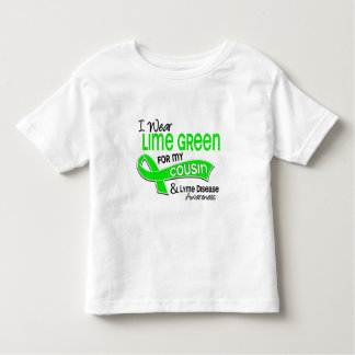 I Wear Lime Green 42 Cousin Lyme Disease Toddler T-Shirt