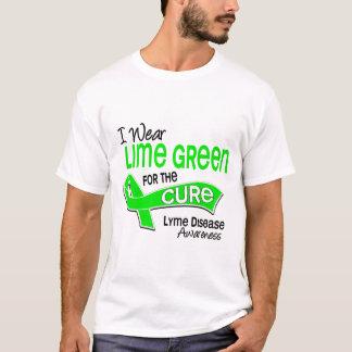 I Wear Lime Green 42 Cure Lyme Disease T-Shirt