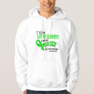 I Wear Lime Green 42 Daughter Lyme Disease Hoodie