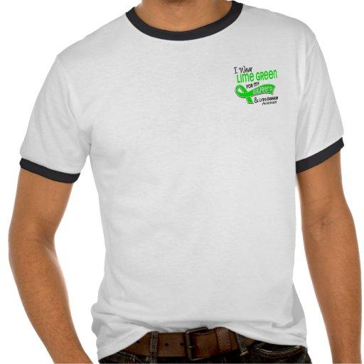 I Wear Lime Green 42 Girlfriend Lyme Disease Tshirt