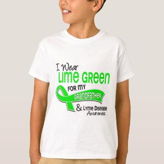 I Wear Lime Green 42 Grandfather Lyme Disease T-Shirt