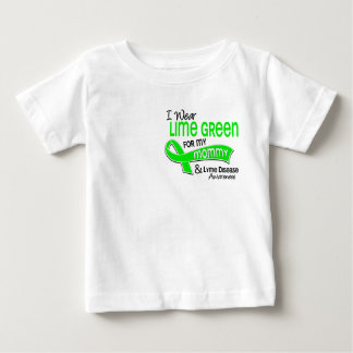 I Wear Lime Green 42 Mommy Lyme Disease Shirts