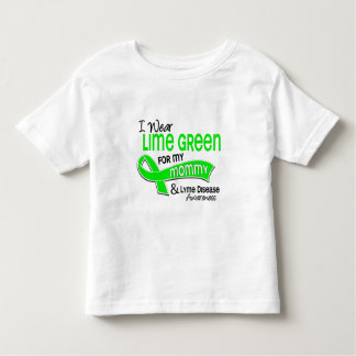 I Wear Lime Green 42 Mommy Lyme Disease T-shirt