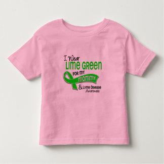 I Wear Lime Green 42 Mommy Lyme Disease Tshirt