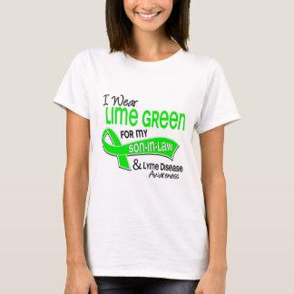 I Wear Lime Green 42 Son-In-Law Lyme Disease T-Shirt
