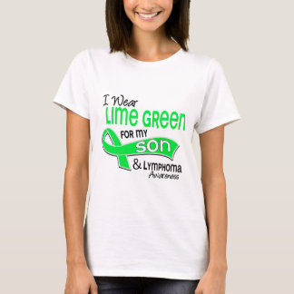 I Wear Lime Green 42 Son Lymphoma T-Shirt