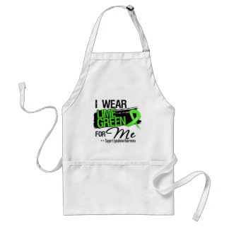 I Wear Lime Green For Me - Lymphoma Apron