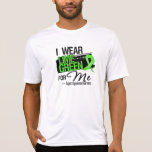 I Wear Lime Green For Me - Lymphoma Tee Shirts
