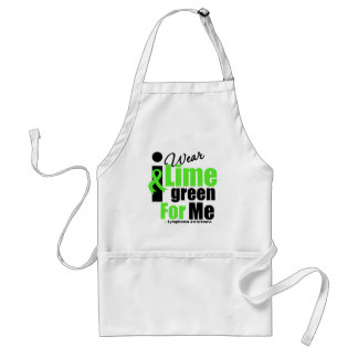 I Wear Lime Green For Me Standard Apron