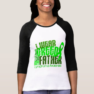 I Wear Lime Green For My Father 6.4 Lymphoma T-Shirt