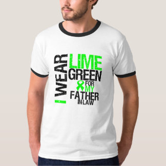 I Wear Lime Green For My Father-in-Law Lymphoma T-Shirt