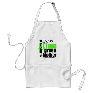 I Wear Lime Green For My Mother Standard Apron