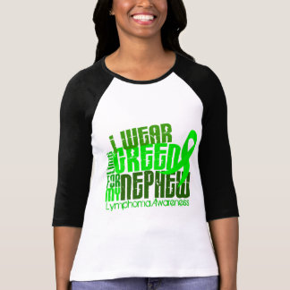 I Wear Lime Green For My Nephew 6.4 Lymphoma T-Shirt