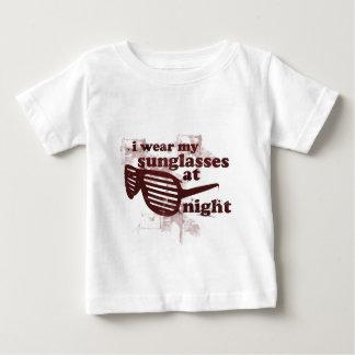 I Wear My Sunglasses At Night Baby T-Shirt