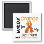 I Wear Orange 43 Best Friend MS Multiple Sclerosis