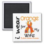 I Wear Orange 43 Wife MS Multiple Sclerosis