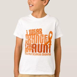 I Wear Orange Aunt Multiple Sclerosis MS T-Shirt