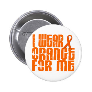 I Wear Orange For Me 16 Button