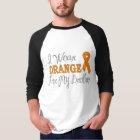 I Wear Orange For My Brother (Orange Ribbon) T-Shirt