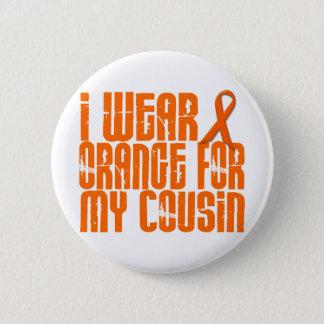 I Wear Orange For My Cousin 16 6 Cm Round Badge