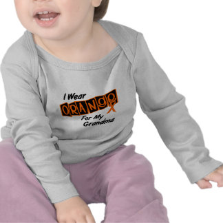 I Wear Orange For My GRANDMA 8 T-shirts
