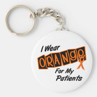 I Wear Orange For My PATIENTS 8 Key Chain