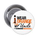 I Wear Orange For My Uncle 6 Cm Round Badge
