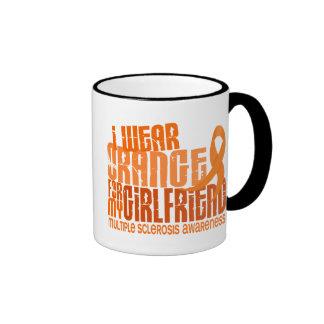 I Wear Orange Girlfriend 6.4 MS Multiple Sclerosis Mug