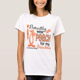 I Wear Peach For My Grandma 27 Uterine Cancer T-Shirt
