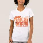 I Wear Peach For My Mum 6.4 Uterine Cancer Tees