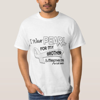 I Wear Pearl For My Brother 42 Mesothelioma T-Shirt