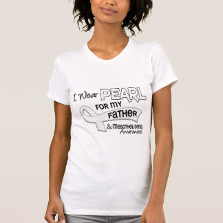 I Wear Pearl For My Father 42 Mesothelioma Tshirts