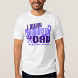 I Wear Periwinkle For  My Dad 6.4 Stomach Cancer Shirts