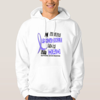 I Wear Periwinkle For My Dad Esophageal Cancer Hoodie